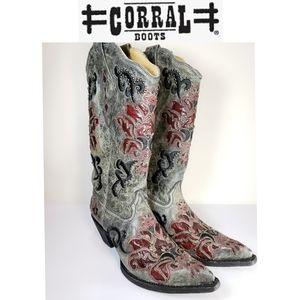 Corral Vintage Collection Embellished Boots